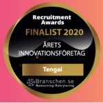 Tengai finalist for Innovation Company of the Year